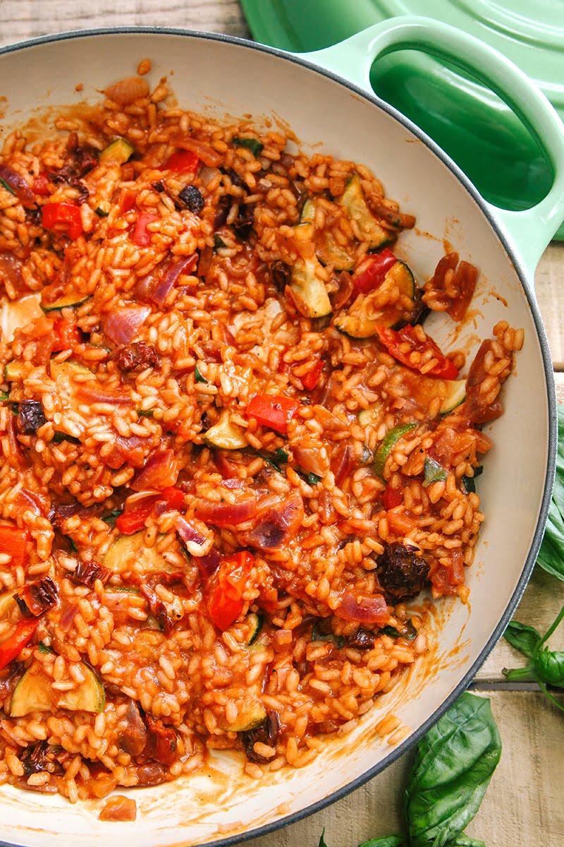 recipe: tomato risotto recipe vegetarian [20]