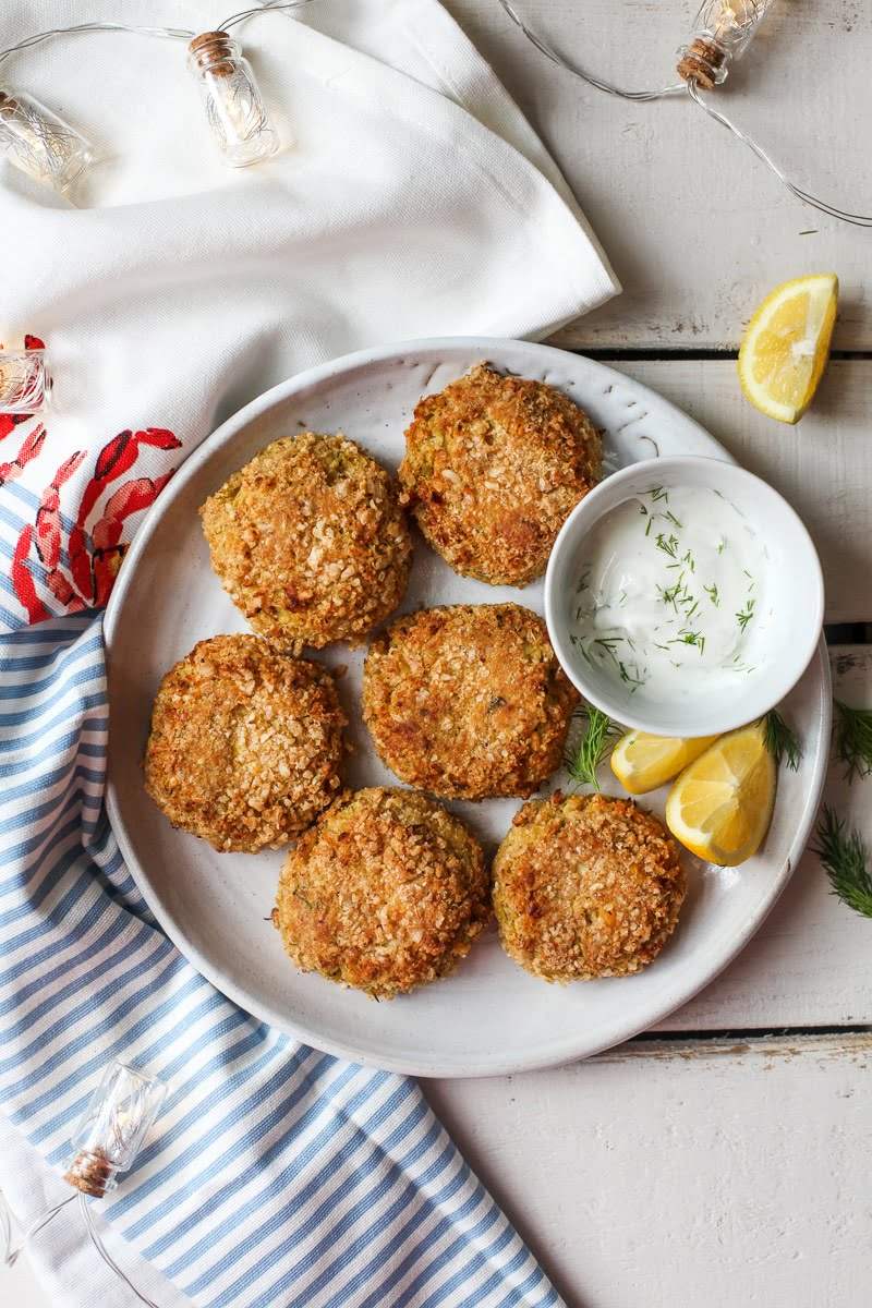 "Mock ""Crab"" Cakes #vegan #vegetarian #glutenfree"
