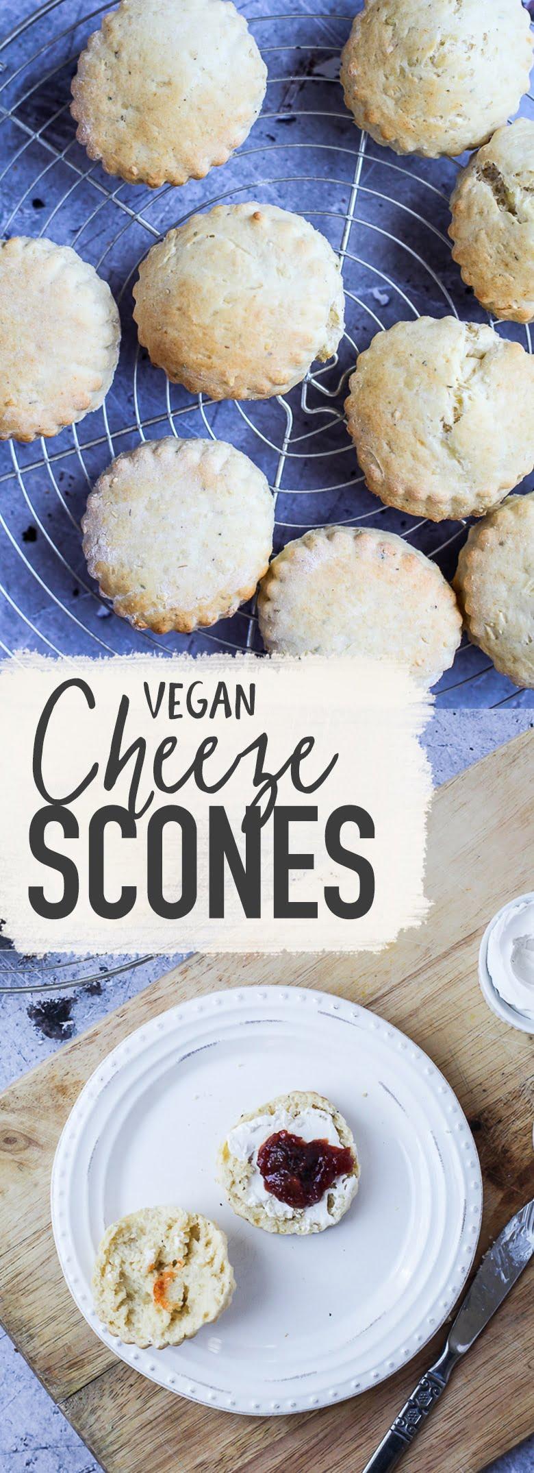 Vegan Cheeze Scones