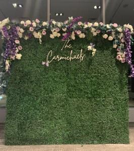 Boxwood Wedding with Custom Floral