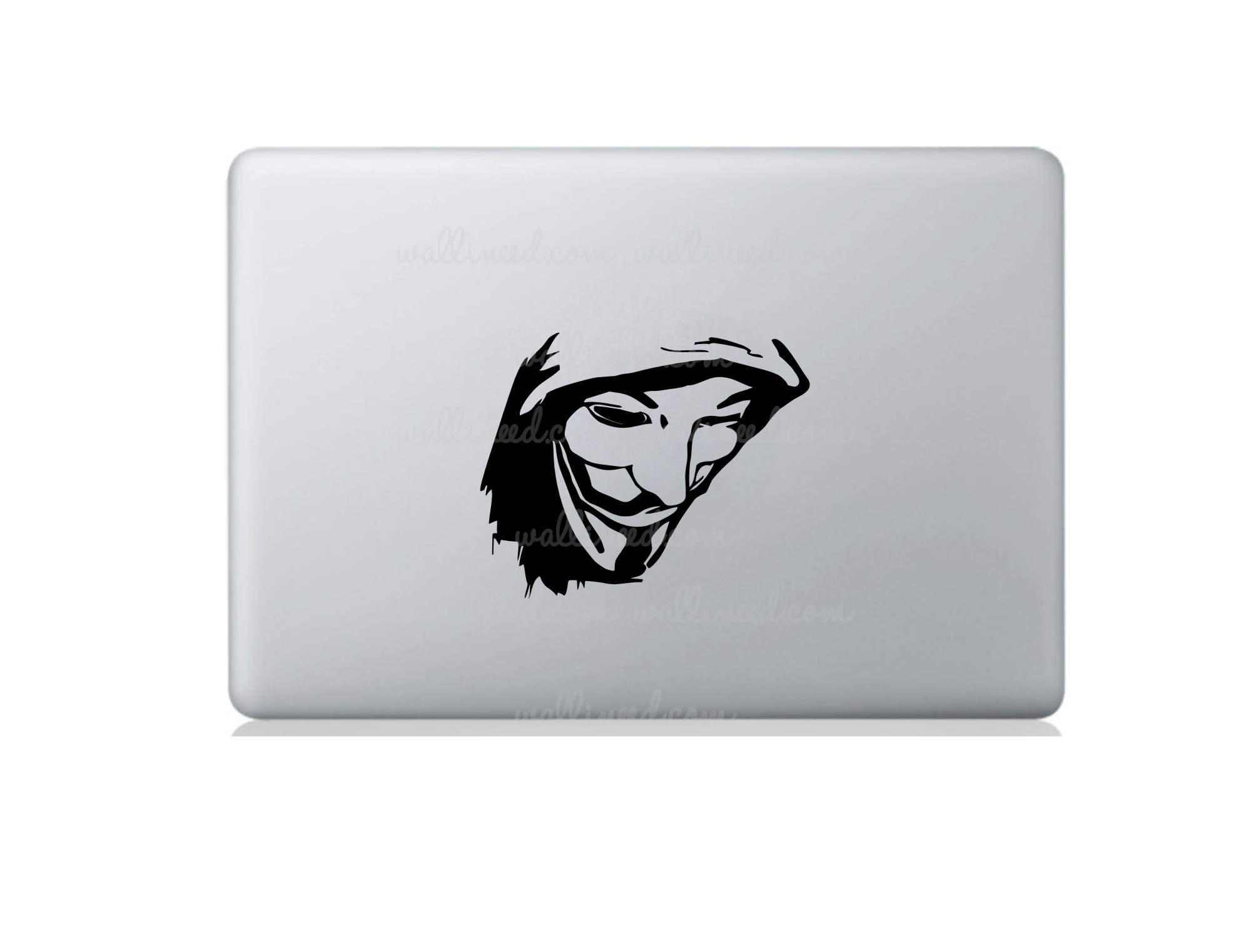anonymous assassin creed laptop sticker