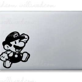 mario bros laptop sticker