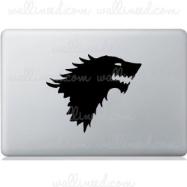 house stark game of thrones laptop sticker