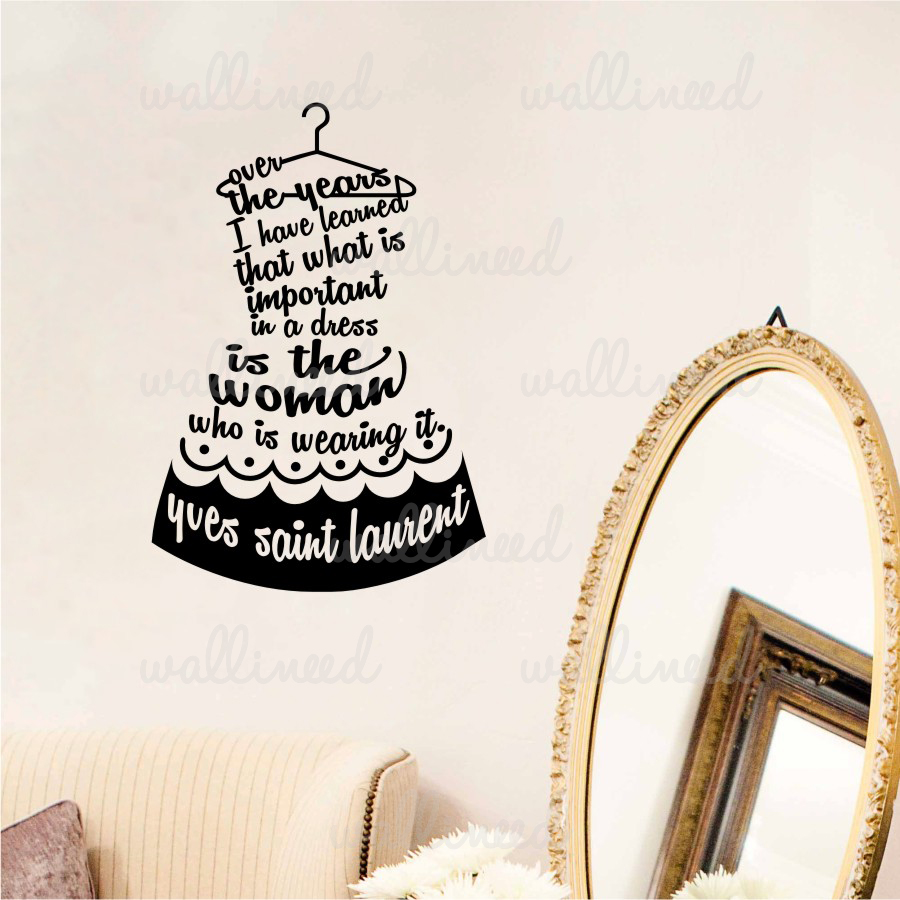 style quote wall decal