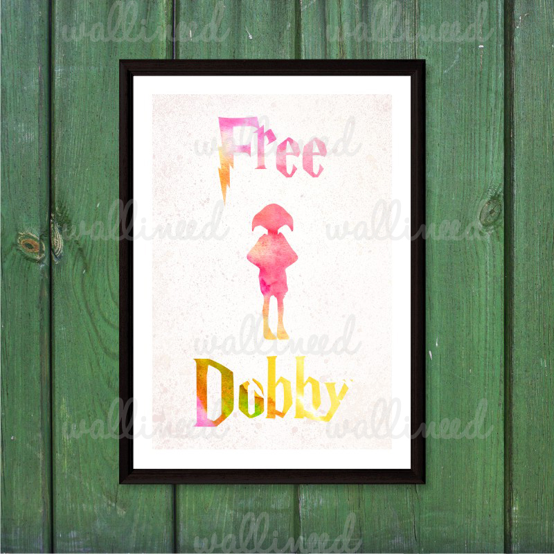 free dobby canvas print poster