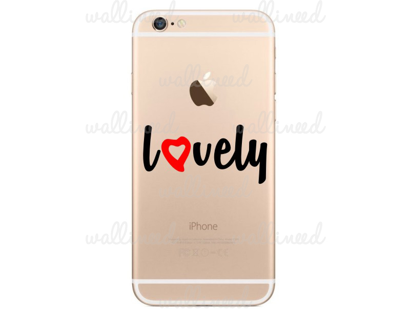 iphone 6 sticker Lovely Heart