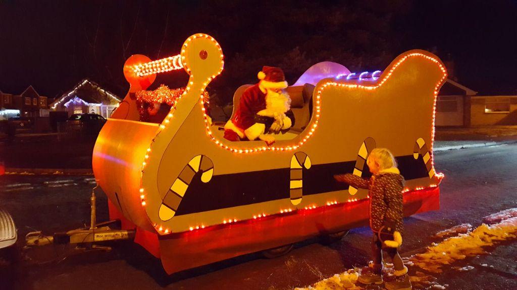 Wallingford 1155 Santa Sleigh