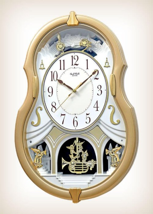 Melody Dream Rhythm Clock 4MJ428WU18