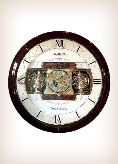 Seiko QXM282BRH Melodies in Motion Clock