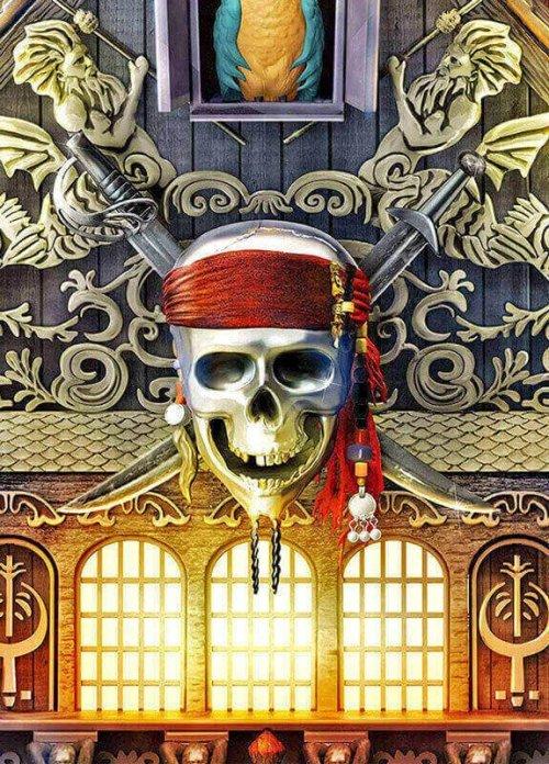 Disney Pirates of the Caribbean Cuckoo Clock