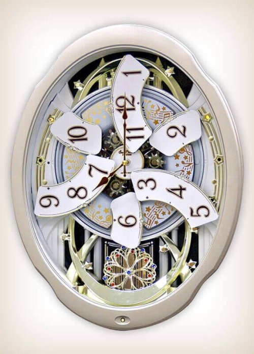 Marvelous Magic Rhythm Clock 4MH842WD18