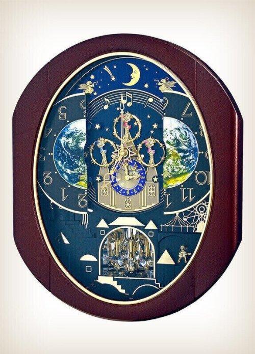 Velvet Cosmos Rhythm Clock 4MH428WU06