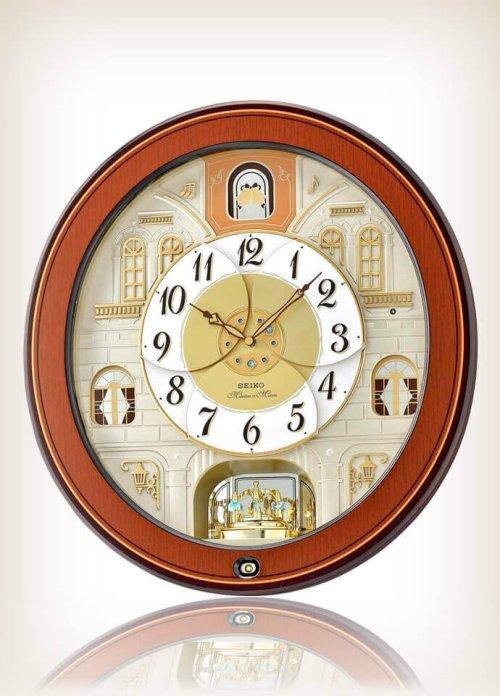 Seiko QXM368BRH Melodies Motion Clock