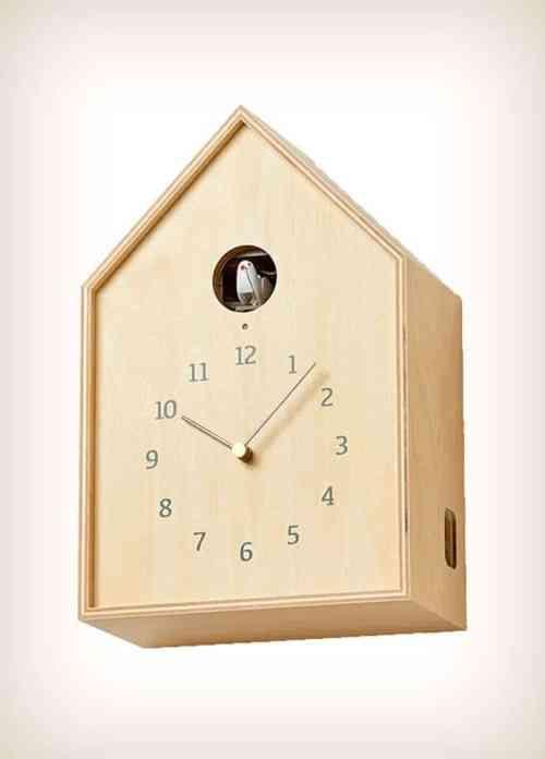 Lemnos Birdhouse Clock Cuckoo Clock NY16-12 NT