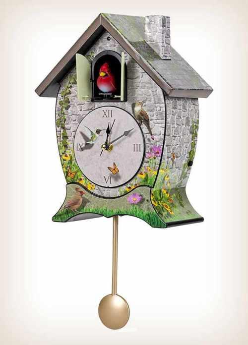 Garden Cottage Cuckoo Clock
