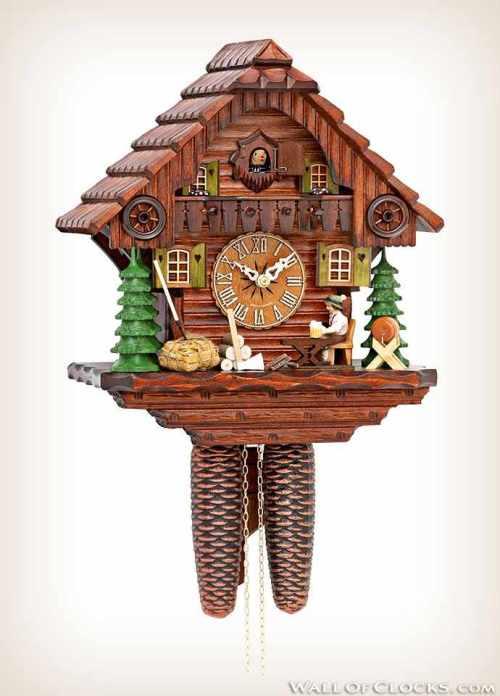 Hekas KA 879 EX Moving Beer Drinker Cuckoo Clock