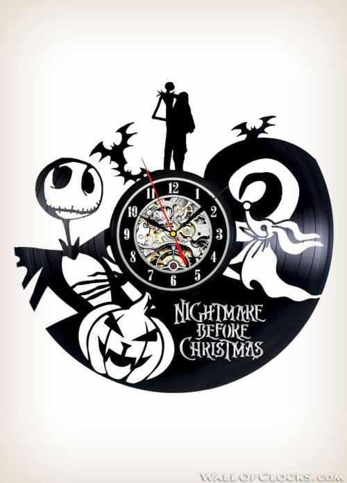 The Nightmare Before Christmas Clock