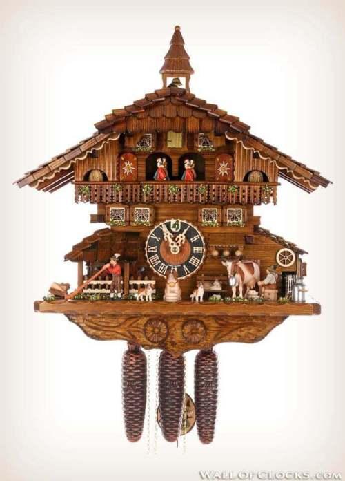 Hones HO 8656T Cuckoo Clock front view