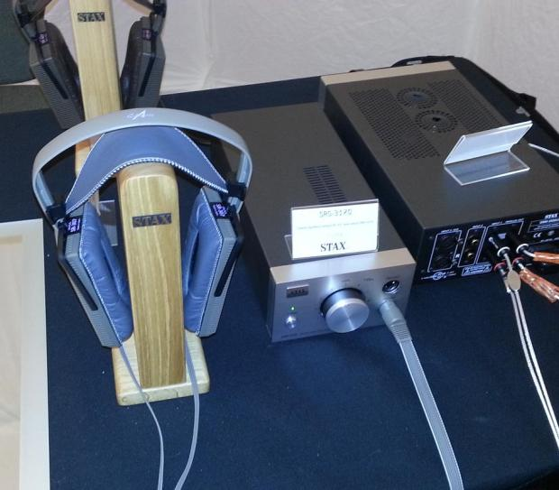 Stax headphones and amplification