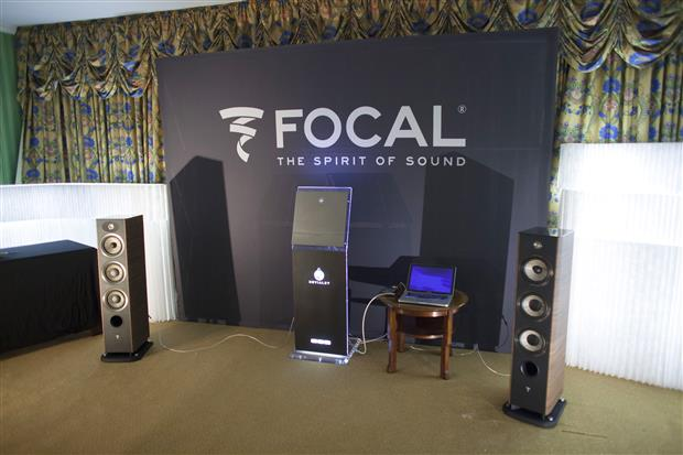 Focal Audio at TAVES (photo credit: Taveshow.com)