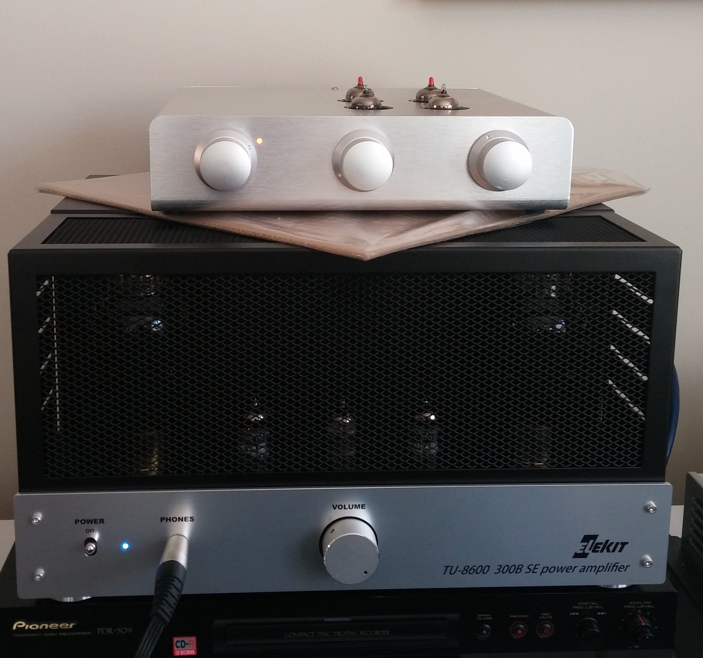 Review: Elekit TU8600 Single-Ended 300B Amp (Part 1)   Wall of Sound