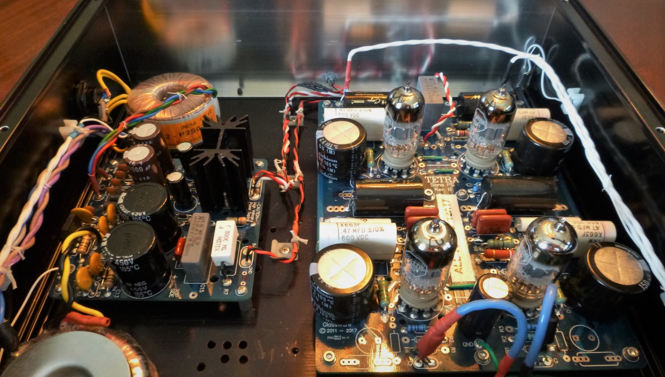 DIY All-Tube High End Phono Preamp Project   Wall of Sound