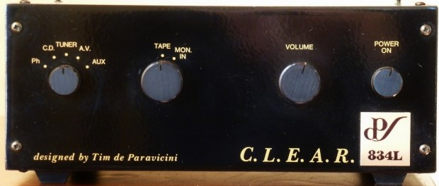 C.L.E.A.R. 834L: The Rejuvenation of an Esoteric Audio Research classic (Part 2)