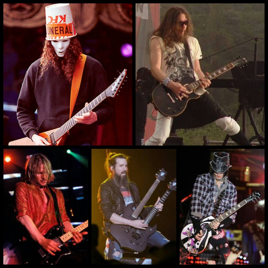 GNR GUITAIRISTS