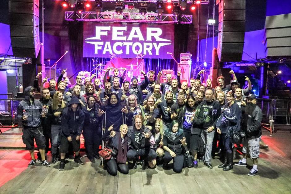 Fear Factory VIP Meet 'n Greet - Metropolis Fremantle