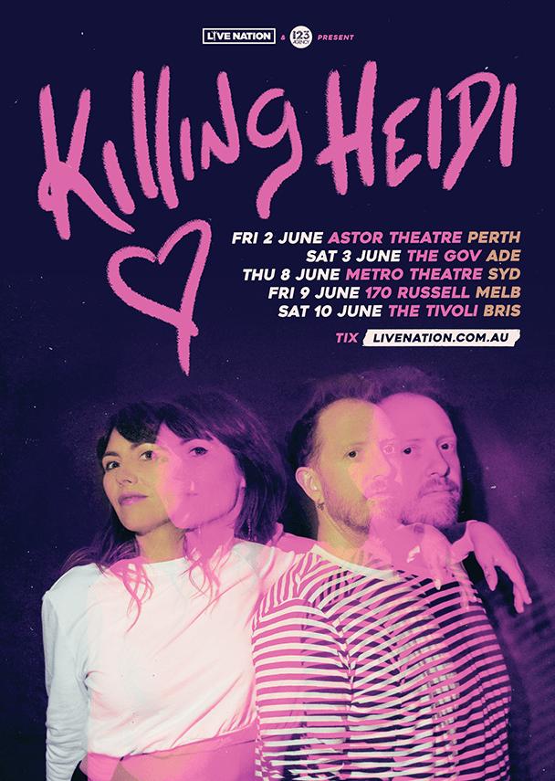 killing heidi tour
