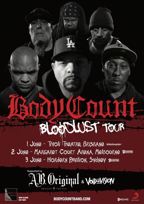 bodycount tour