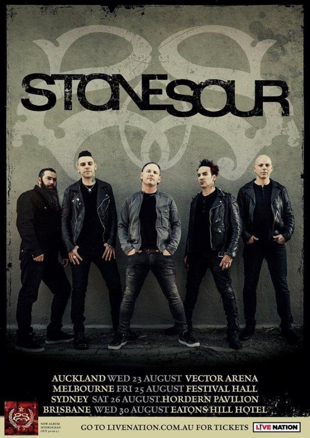 stone sour tour