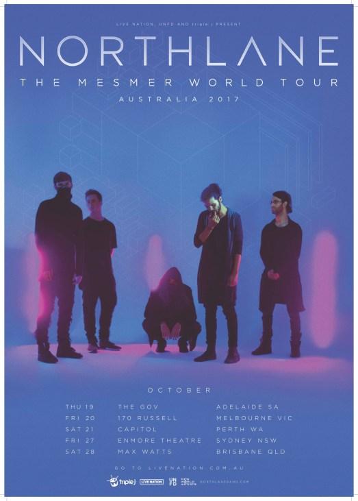 northlane world tour