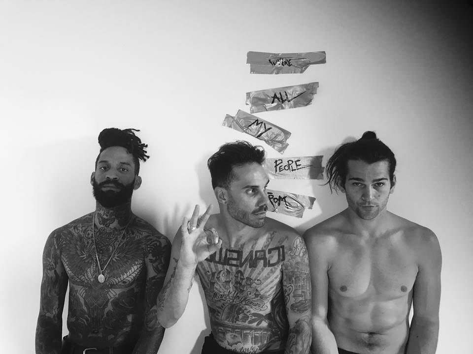 "The Fever 333 announce ""We're Coming In"" to your life with a heavy af debut song"