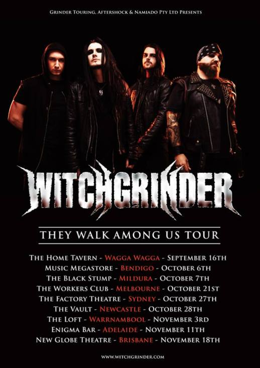 witchgrinder tour