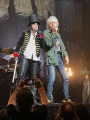 Alice Cooper Bob Geldof