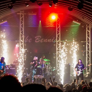 The Bennies at Triffid-22