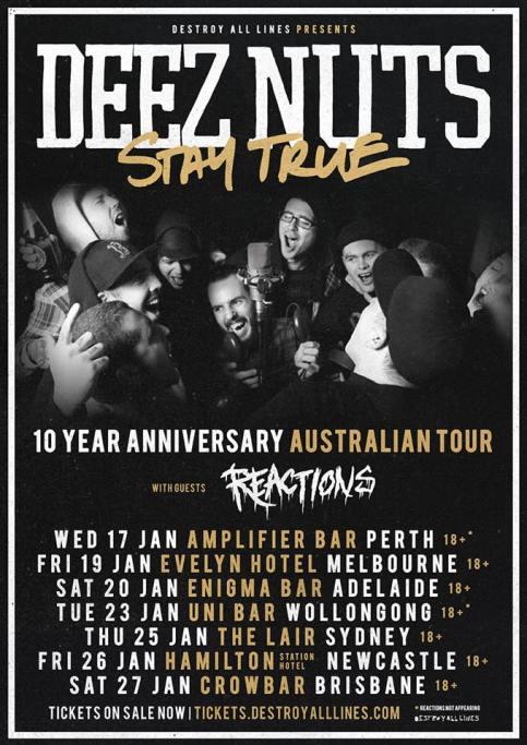 deez nuts tour