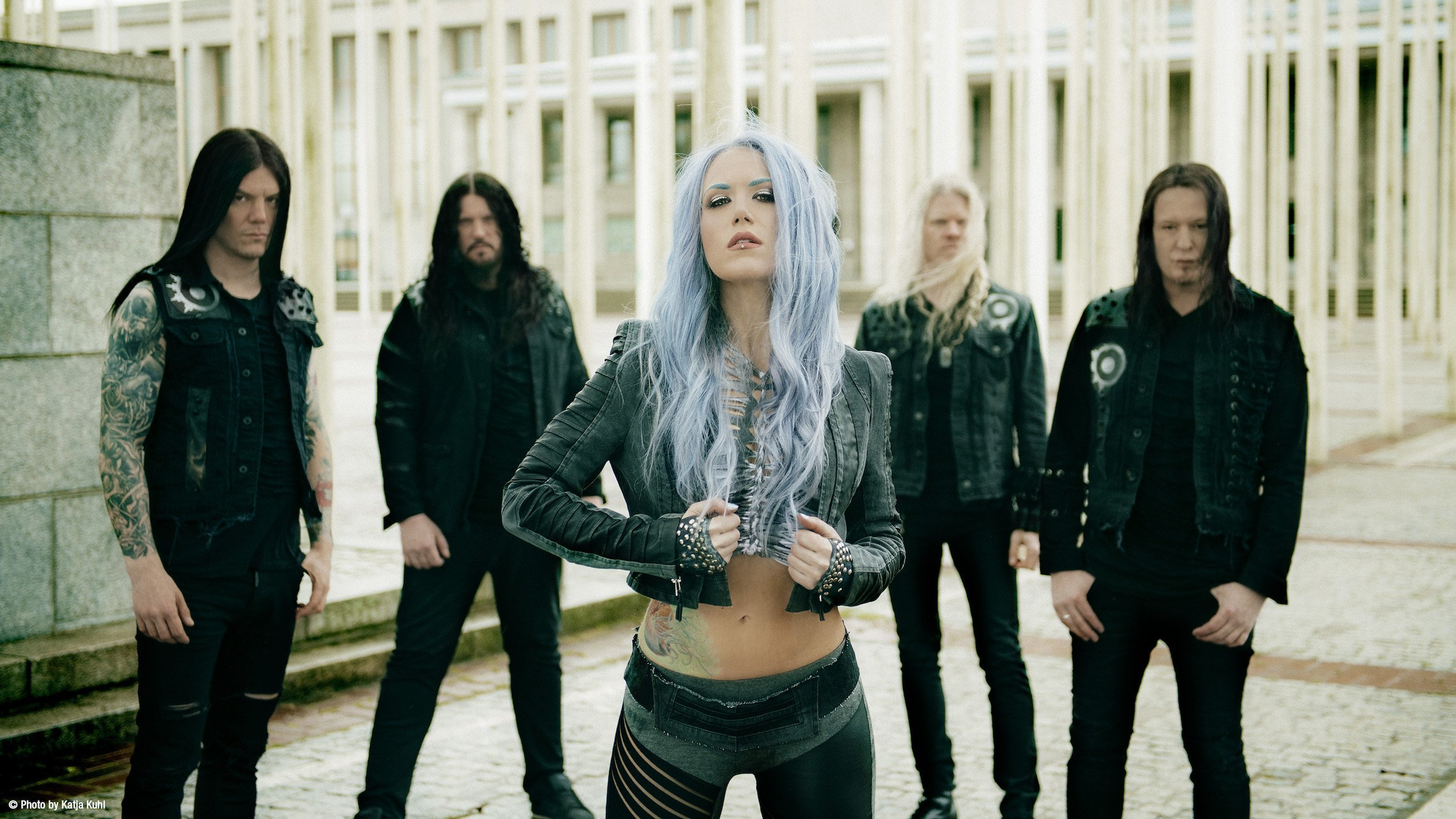 Alissa White Gluz Arch Enemy Show The World Is Yours Wall