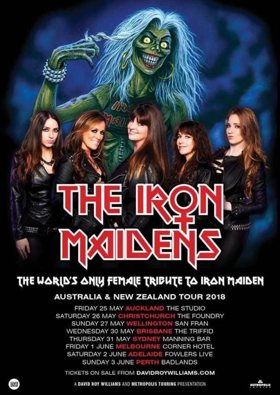 iron maidens tour