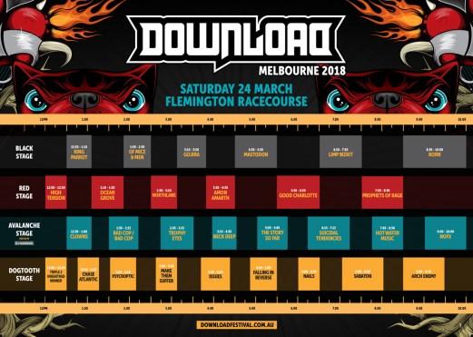 DL Timetable