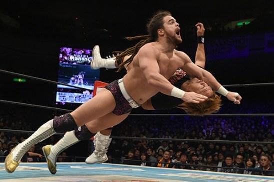 JR wrestl