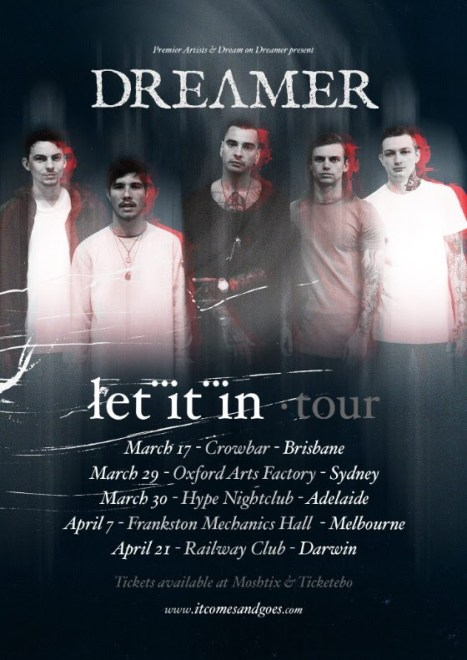 dream on dreamer tour