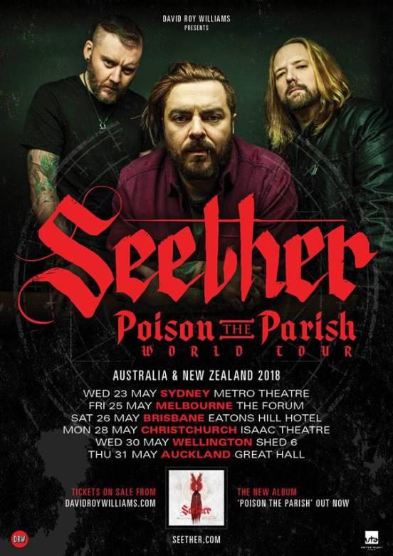 seether tour