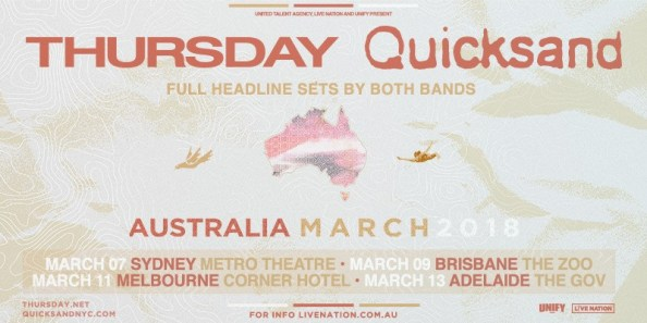 thursday quicksand tour