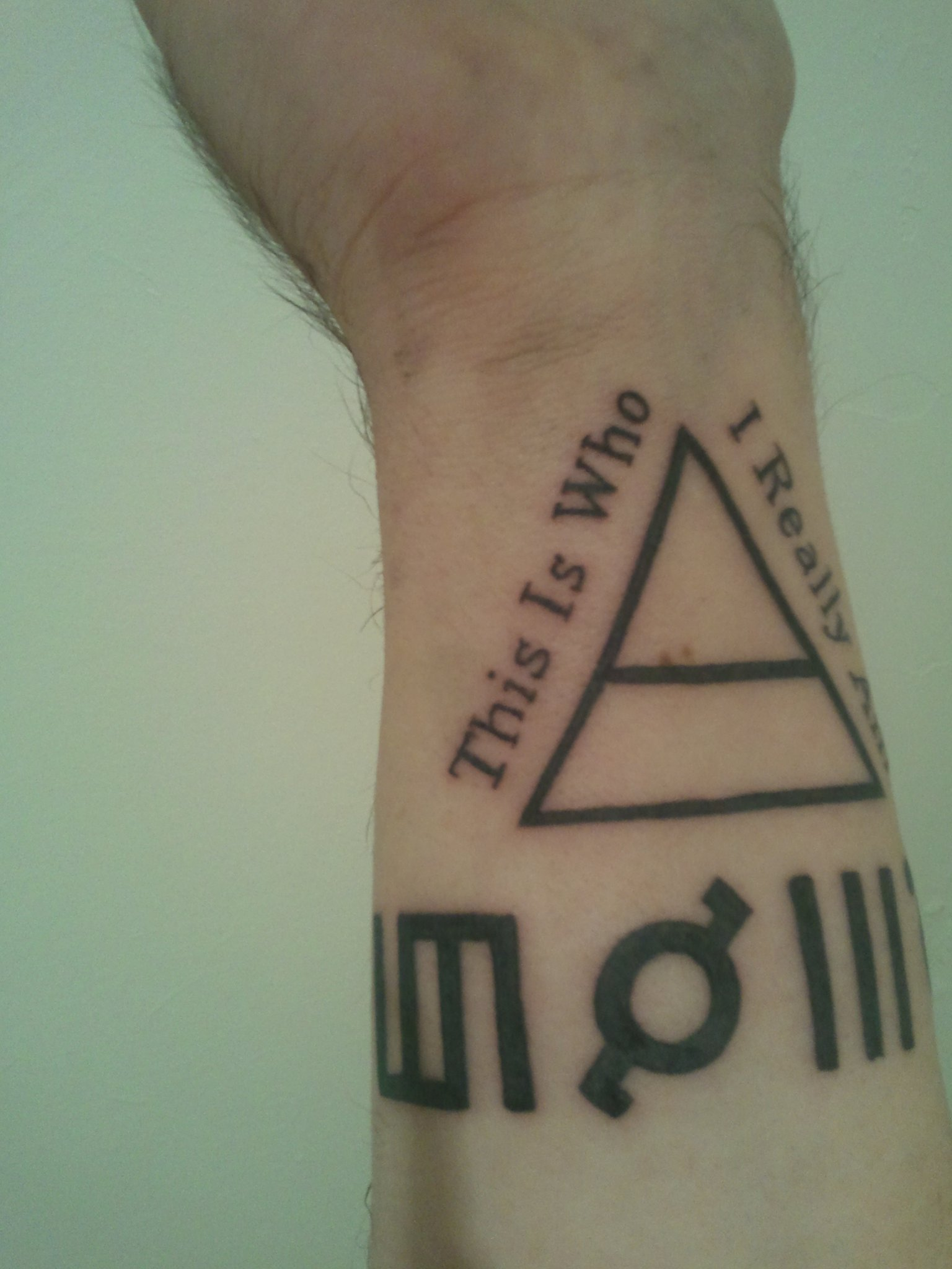 """30 Seconds to Mars - Tattoo """"This Is Who I Really Am"""""""