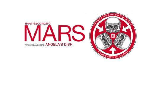 30 Seconds to Mars - A Beautiful Lie 2007 Tour Poster