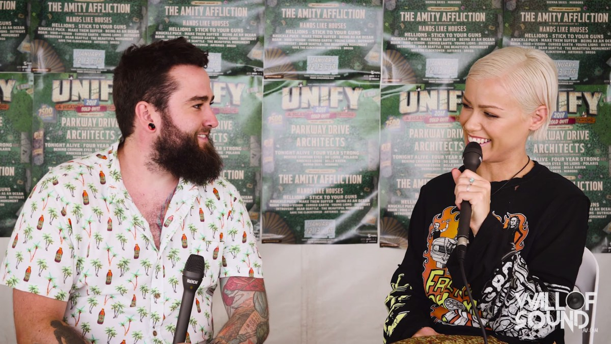 Tonight Alive – UNIFY 2018 Interview & Photo Gallery
