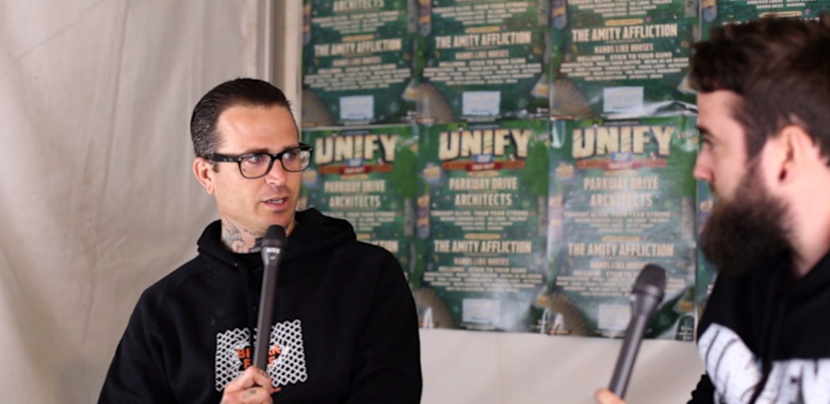 The Amity Affliction – UNIFY 2018 Interview & Photo Gallery