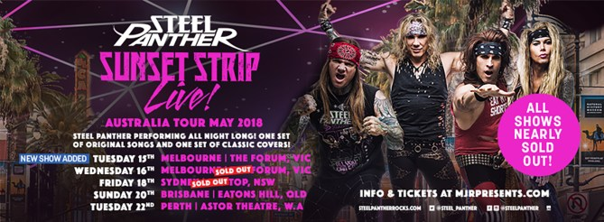 steel panther sold